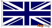 UNION JACK NAVY BLUE ANYFLAG RANGE - VARIOUS SIZES